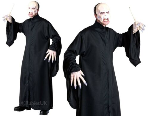 Adult DELUXE VOLDEMORT Fancy Dress Costume Harry Potter Gryffindor Book Week Men