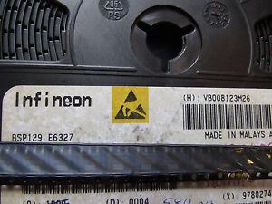 BSP129E6327-INFINEON-TRANS-MOSFET-N-CH-240V-0-35A-4-Pin-3-Tab-SOT-223-10-piece