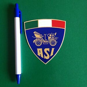 NR 2 Stemmi ADESIVI ASI 7,5 CM no Targa ,logo IN PROMOZIONE!!!!!!!!!!!