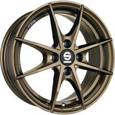 Winter Tyres Smart 453 Alloy Wheels Sparco Trofeo Bronze Gold Kumho