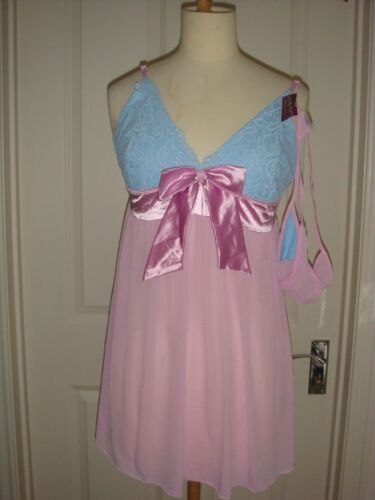 Women/'s Sweet Lace Babydoll Set// Underwear Babydoll Nightwear