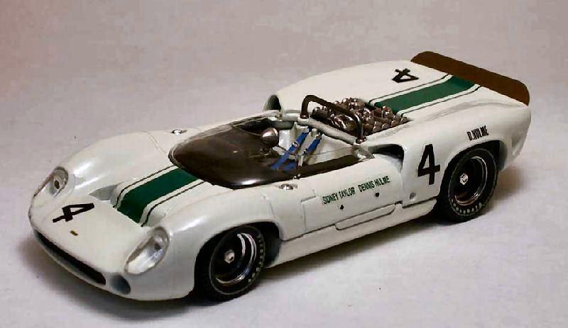 Lola t70 spyder  4 oulton park 1965 D. Hulme  1 43 model Beste models  pour votre style de jeu aux meilleurs prix