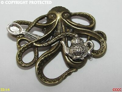Nette Tiere Walhai Octopus Puffer Fisch hart Emaille Pin Revers Broschen WQ B ei