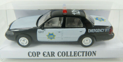 ST Ford Crown Victoria SFPD San Francisco Police Cop Car Collection 1:87