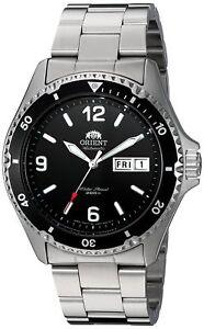 Orient-Men-039-s-FAA02001B9-Mako-II-Analog-Automatic-Hand-Winding-Silver-Watch