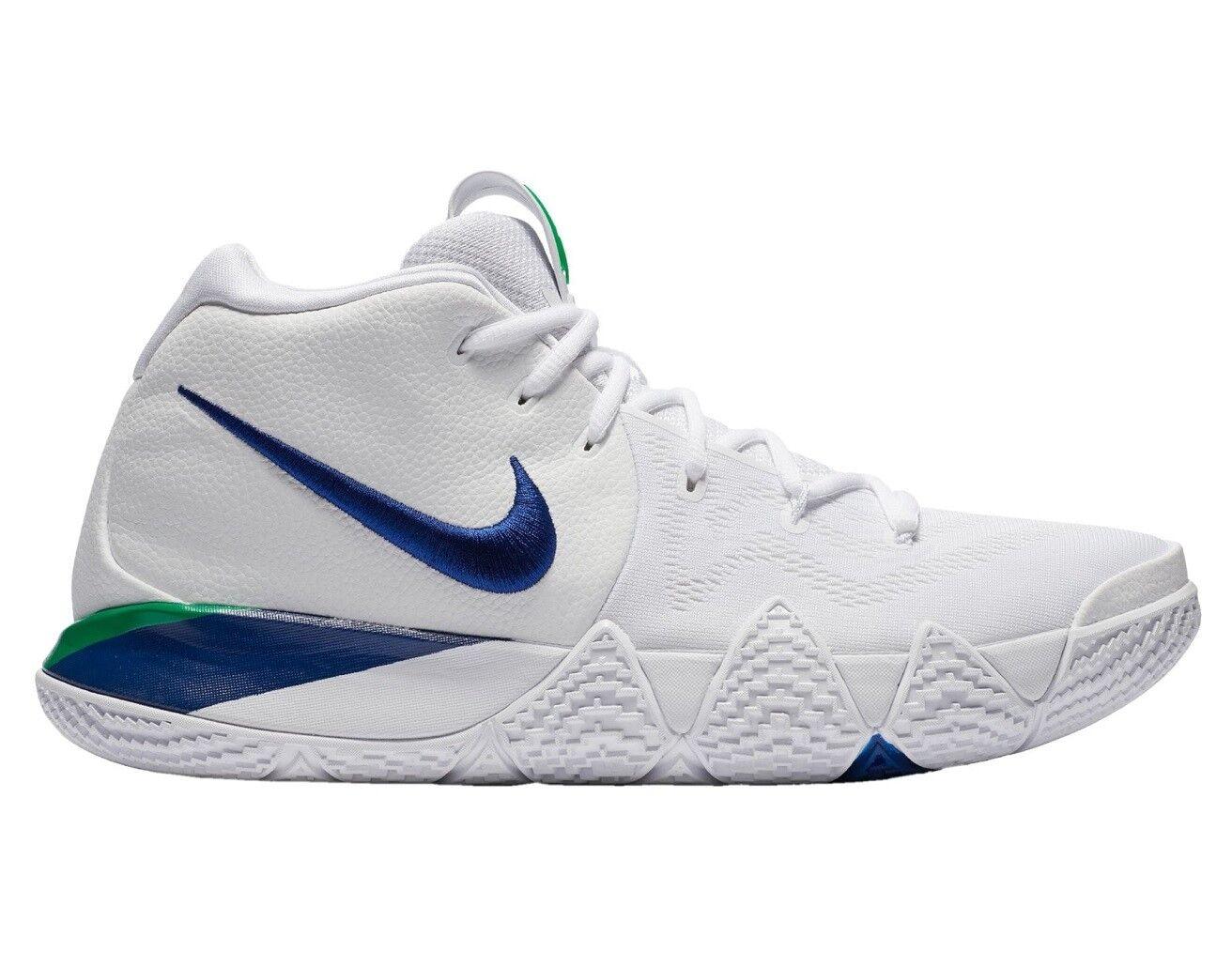 Nike Kyrie 4 Seahawks Mens 943806-103 White Royal Blue 13 Basketball Shoes Size 13 Blue 96efe6