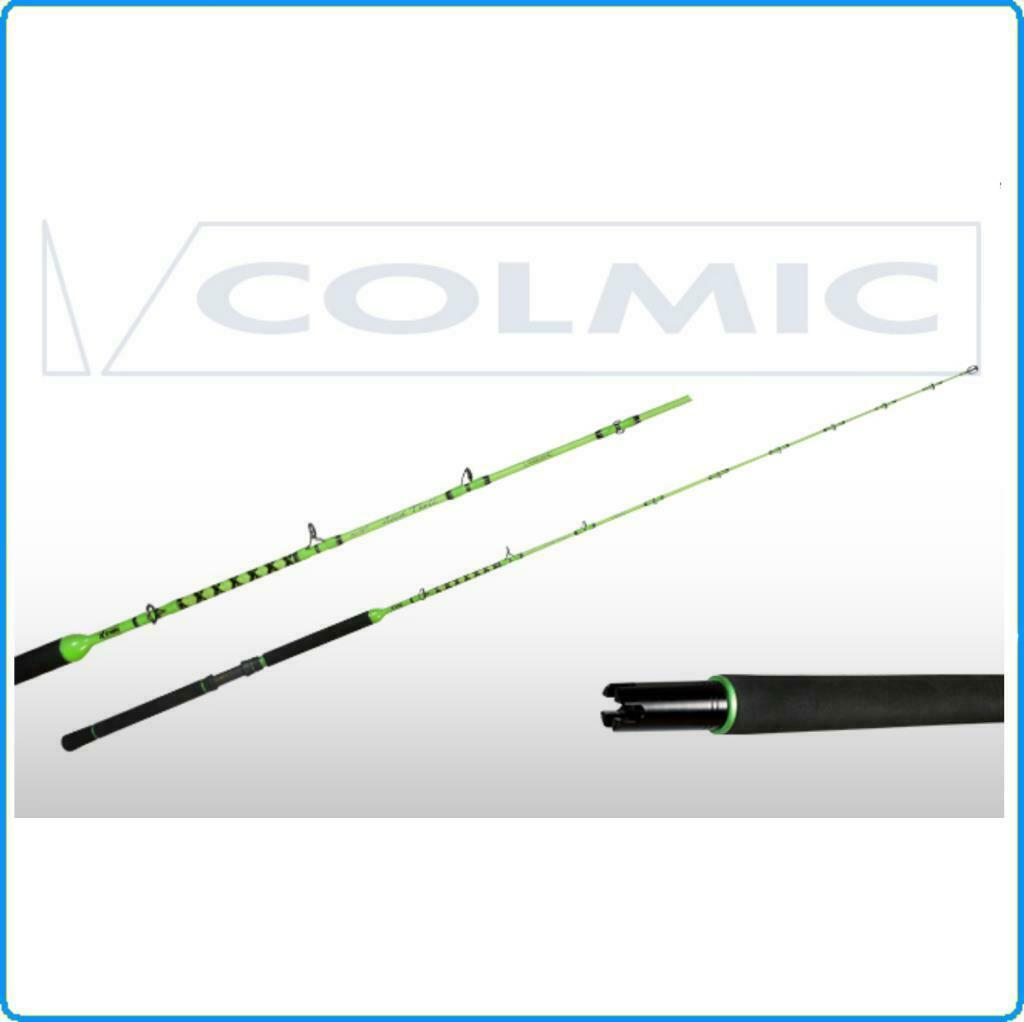 Angelpunkt Angelpunkt Angelfisch, Colmic Pro Light Acid Troll 7'2.10MT 6-12LB AB