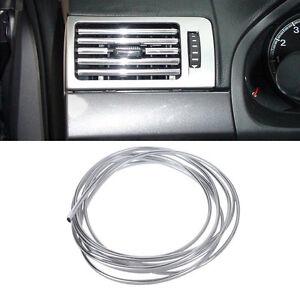 034-U-034-Style-3m-x-6mm-Chrome-Trim-Strip-Bumper-Air-Vent-Grille-Switch-Rim-Moulding