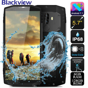 NUOVO Impermeabile 5.7''FHD Blackview BV9000 Pro 4G Smartphone CELLULARE FACE ID
