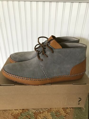 Hommes Taille Gris Chaussures Seude 10 Ohw New OXwkPulZiT