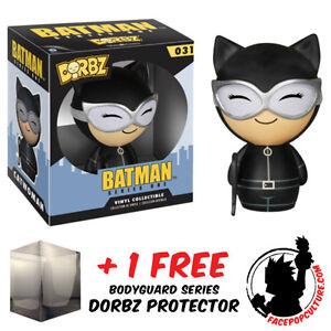 FUNKO DORBZ DC COMICS BATMAN HARLEY QUINN VINYL FIGURE FREE DORBZ PROTECTOR