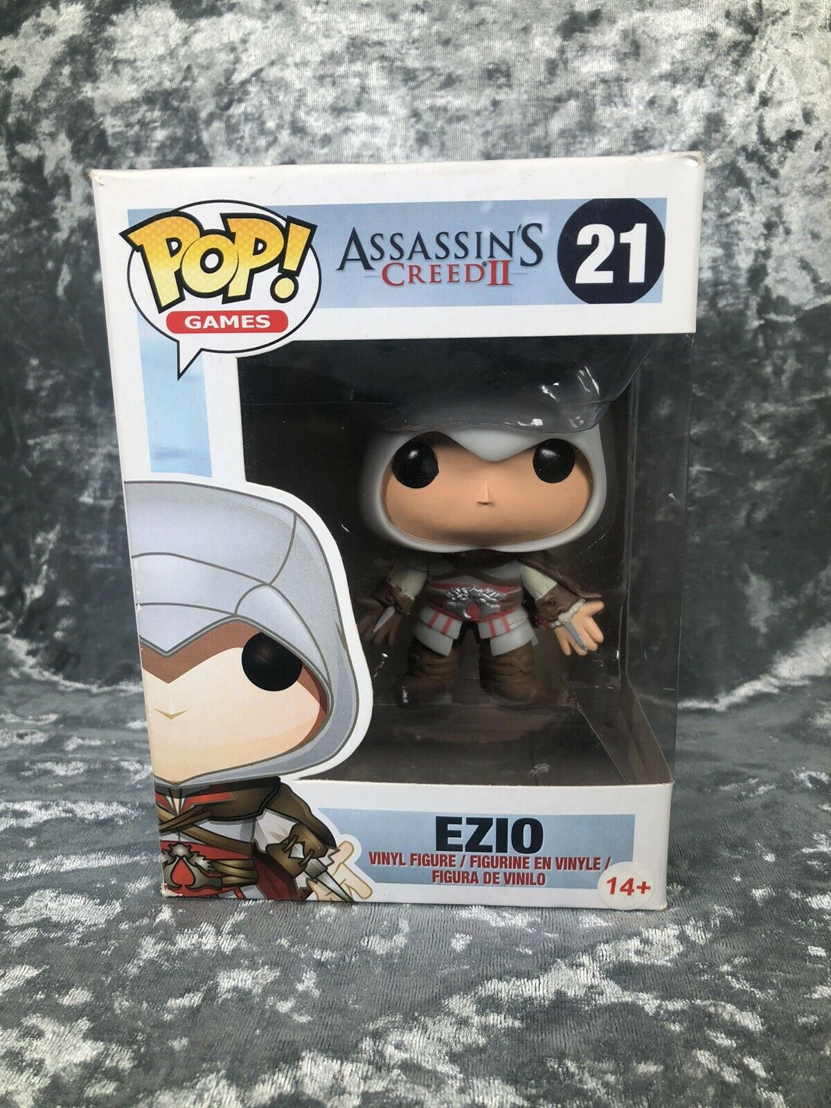 Ezio Funko Pop Vinyl Figure  21 Assassins Creed 2 Rare Vaulted
