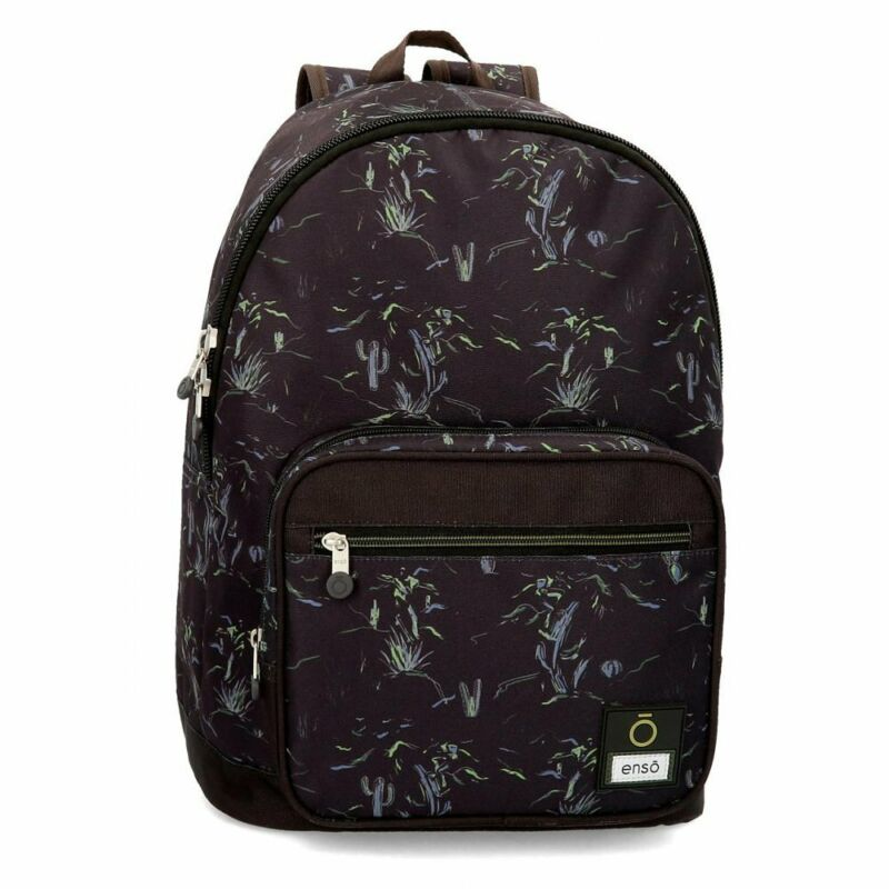 Backpack Enso Shoulder Straps Adjustable Port Pc 15.5 44x32x17cm Man Blue