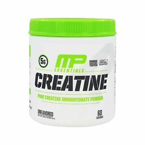 MP Essentials Creatine Muscle Building Protein Monohydrate Powder 60 Servings