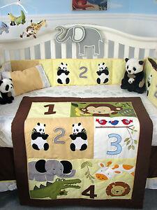 Image Is Loading Soho 1234 Jungle Friends Baby Crib Complete Nursery
