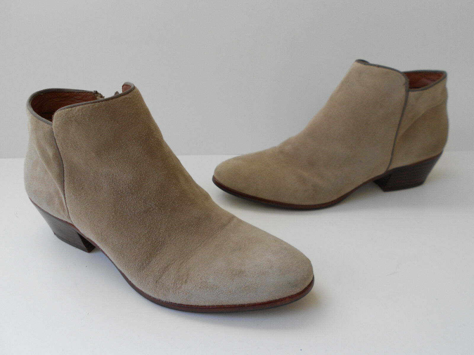 SAM EDELMAN SUEDE LEATHER ANKLE BOOT WOMEN SIZE US 8 SEXY HOT