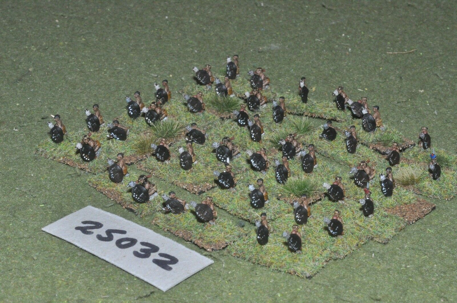 10mm colonial   zulu - warriors 48 figures - inf (25032)
