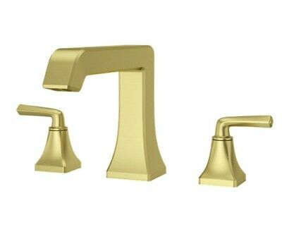 Pfister Rt6 5fe Gold Park Avenue Deck Mounted Roman Tub Filler Double Handle 38877630259 Ebay