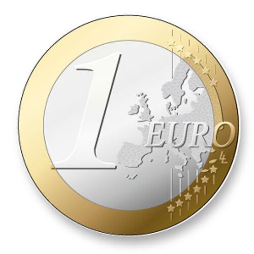 Porte clé Keychain Ø45mm Image Monnaie Euro Europe Coin Piece Currency Money