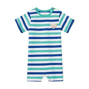 STEIFF-Baby-Jungen-Overall-Strampler-Spieler-Einteiler-kurzarm-56-86-2019-NEU