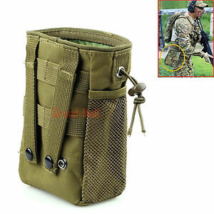 Image Is Loading Tactical Magazine Utility Drop Dump Pouch Molle Military