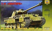 1:35 Zvezda #3678 Pz. Kpfw. V Panther (Ausf. D) Bausatz NEU OVP  !!!