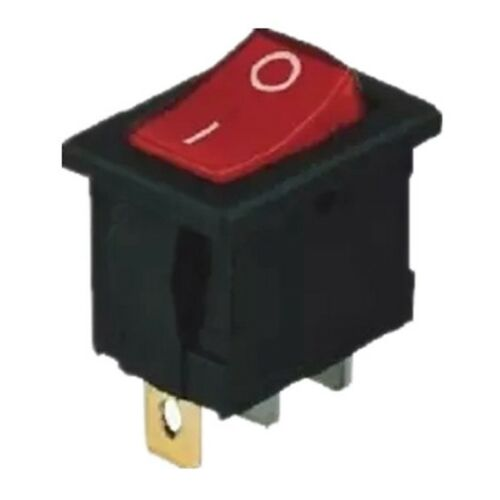 5Pcs 4 Pin ON//OFF 2 Position Rocker Switch With Light KCD1-102N 250V Ti