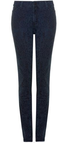 Jegging Rrp Floral Nydj Sizes 8 95 Alina Bnwt 12 £ 159 Uk Blue qExpz5wTRx