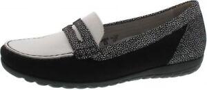 White Inner Waldlaufer Loafer Nubuk Comfort 329503 Suede Black Denver Leather SqrwHztqfx