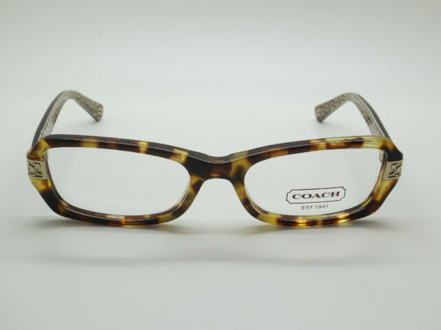 f7309fea8eb NEW Authentic COACH HC 6005 Marjorie 5047 Spotty Tortoise 51mm RX Eyeglasses