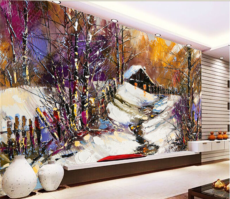 3D Oil Painting 422 Wall Paper Wall Print Decal Wall Deco Indoor AJ Wall Paper