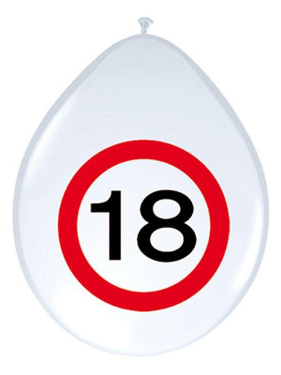 1 Satz Tisch /& Becheruntersetzer Verkehrsschild 18 Geburtstag Party Wunschzahl