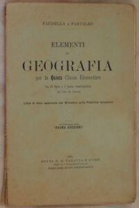 FAUDELLA-PANTALEO-ELEMENTI-DI-GEOGRAFIA-1905-GOLFO-DI-NAPOLI-ISCHIA-ISOLA-D-039-ELBA