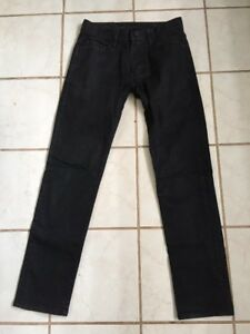 4be54519 A/X Armani Exchange Men's Black J130 Skinny Jeans Sz 28 Short | eBay