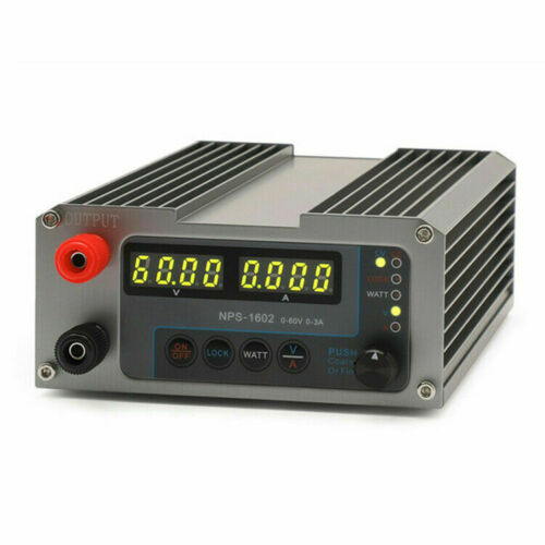 NPS-1602 Adjustable Digital DC Function Supply for GOPHERT CPS-6003II Switching