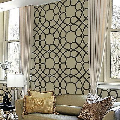 Coco Trellis Allover Stencil - Reusable Wall Stencils for DIY Home Decor!