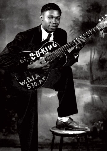 BB King Awesome 1949 BW New Poster