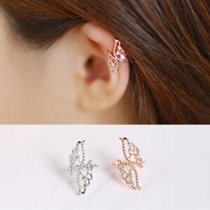 Ohrstecker Schmetterling echt Sterling Silber 925 Zirkonia Damen Ohrringe