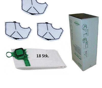 6 Staubsaugerbeutel Filtertüten Beutel geeignet für Vorwerk Kobold VK 140 150