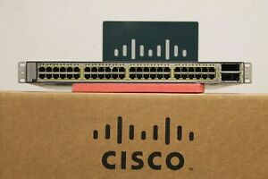 Cisco-Catalyst-3750-E-POE-48-10-100-1000-POE-2x10GE-PORT-750W-WS-C3750E-48PD-S