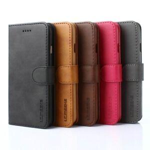 Luxe-Etui-Housse-Flip-Magnetique-Portefeuille-Case-pour-iPhone-Xs-Max-6-7-8-Plus