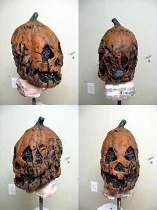 halloween3 III season of the witch mask pumpkin movie prop silver ...