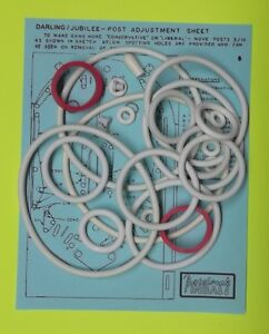 Travel Time pinball rubber ring kit 1973 Williams Summer Time