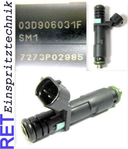Einspritzdüse SIEMENS SM1 03D906031F VW Polo 9 N Fox 1,2 gereinigt /& geprüft
