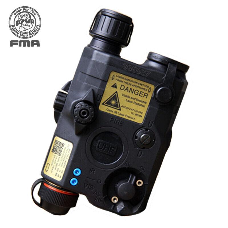 FMA justiciero LA5-C versión  de actualización la Caja de Batería blancoo Led + Laser rojo con lentes de ir Ejército  muchas concesiones