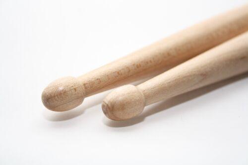 7A Drumsticks Ahorn Holz Drum Trommel Stick Sticks Stöcke Schlagzeug Holzköpfe
