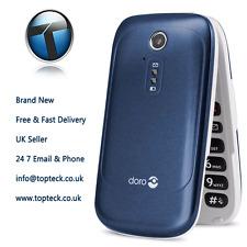 Doro PhoneEasy 6520 - Blue (Unlocked,) New Mobile Phone