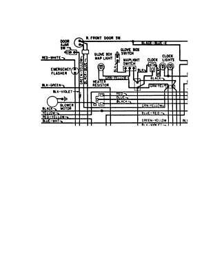 Ford Mustang Mach 1 Grande 1970 Wiring Diagram Schematic B W Pdf Ebay
