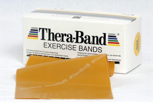 TheraBand 3 M MAX fortemente oro originale Thera BAND FITNESS RIABILITAZIONE GINNASTICA NUOVO