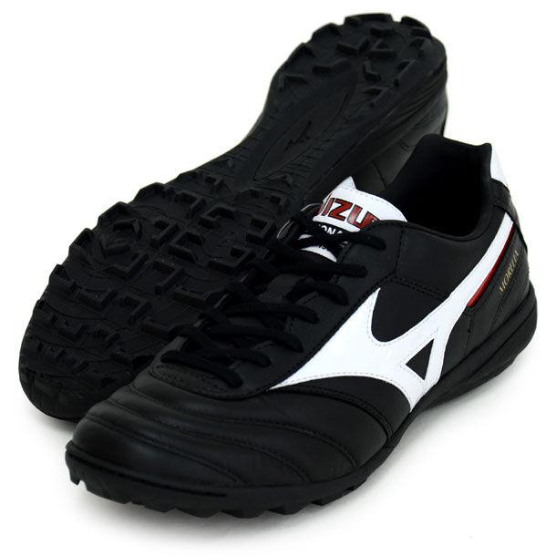 Mizuno Morelia de Japón HORQUILLA roscada Zapatos DE FUTSAL FÚTBOL DE INTERIORES Q1GB1600 Negro